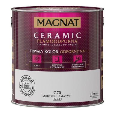 Farba wewnętrzna CERAMIC 2.5 l Surowy hematyt MAGNAT