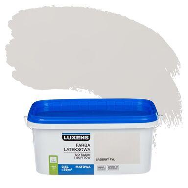 Farba wewnętrzna DO ŚCIAN I SUFITÓW 2.5 l Srebrny pył LUXENS