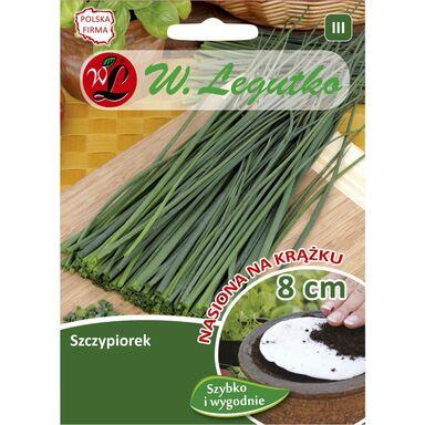 Szczypiorek nasiona na krążku 2 szt. W. LEGUTKO