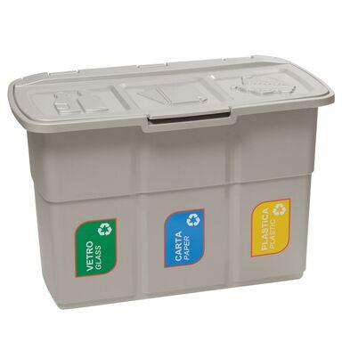 Kosz na śmieci Ecopat 3 x 25 l Multim