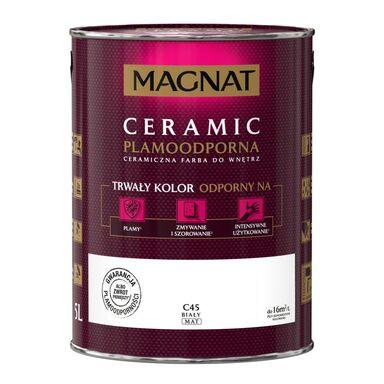 Farba wewnętrzna CERAMIC 5 l Biały MAGNAT