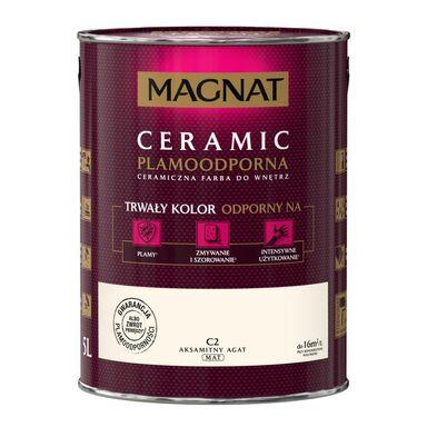 Farba wewnętrzna CERAMIC 5 l Aksamitny agat MAGNAT