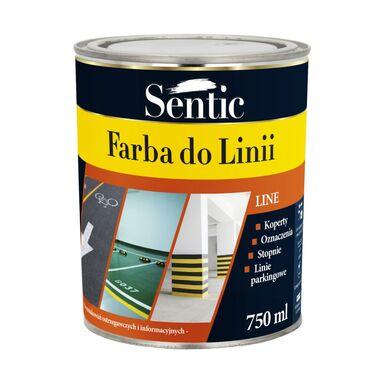 Farba do podłóg DO LINII 0.75 l Żółta SENTIC