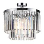 Lampa sufitowa VETRO kryształowa E14 LIGHT PRESTIGE