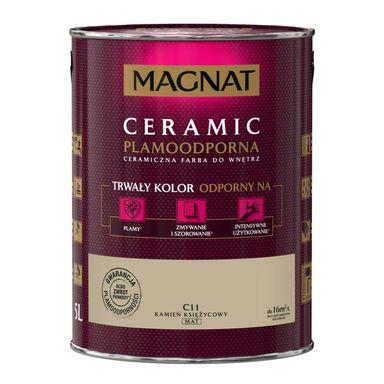 Farba wewnętrzna CERAMIC 5 l Kamień księżycowy MAGNAT
