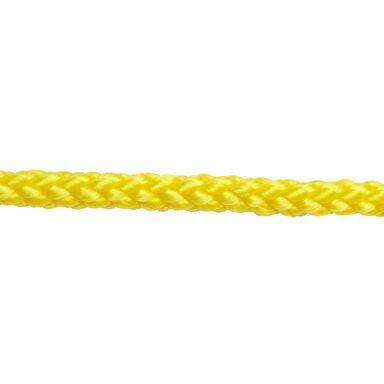 Lina polipropylenowa 100 kg 4 mm x 1 mb pleciona żółta STANDERS
