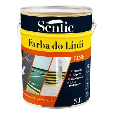 Farba do podłóg DO LINII 5 l Żółta SENTIC