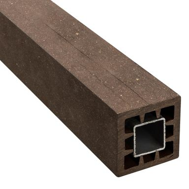 Kantówka kompozytowa WPC BRĄZ 6x6x105 cm WINFLOOR