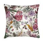 Poduszka w kwiaty Vavega różowa 45 x 45 cm