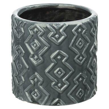 Osłonka ceramiczna 14 cm szara