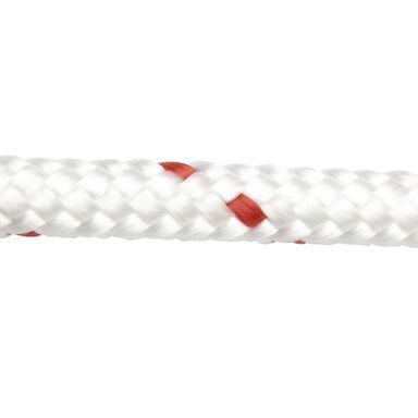 Lina PE 300 kg 8 mm x 1 mb pleciona biało-czerwona STANDERS