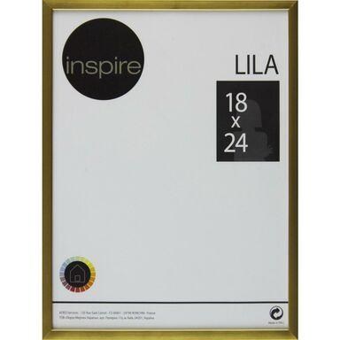 Ramka na zdjęcia LILA 18 x 24 cm złota INSPIRE