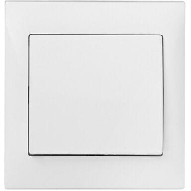 Włącznik pojedynczy INES  Biały  POLMARK