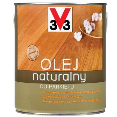 Olej NATURALNY DO PARKIETU 2.5 l Merbau V33