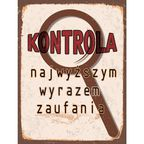 Obraz KONTROLA 30 x 40 cm CONSALNET