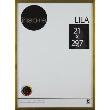 Ramka LILA 21 x 29.7 cm złota INSPIRE