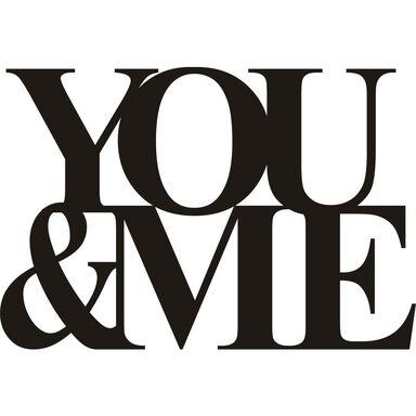 Naklejka YOU&ME