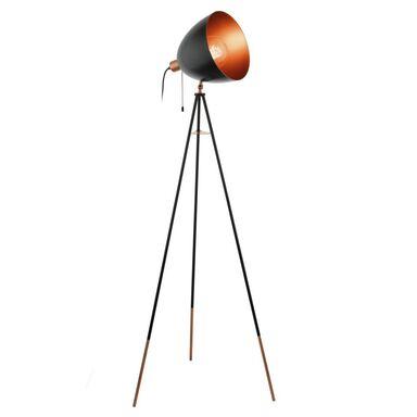 Lampa podłogowa CHESTER czarna E27 EGLO