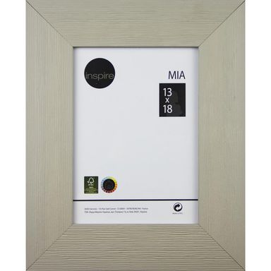 Ramka na zdjęcia MIA 13 x 18 cm taupe MDF INSPIRE