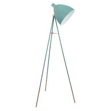 Lampa podłogowa DUNDEE miętowa E27 EGLO