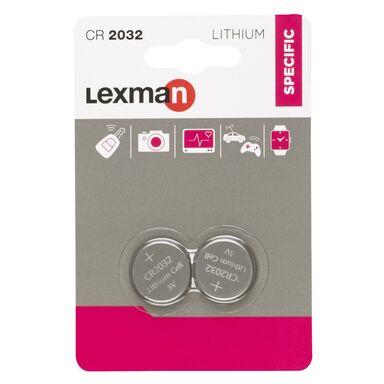 Bateria LITOWA CR2032 2 SZT. LEXMAN
