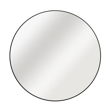 Lustro okrągłe Circle czarne śr. 50 cm Inspire