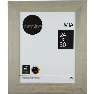 Ramka na zdjęcia MIA 24 x 30 cm taupe MDF INSPIRE