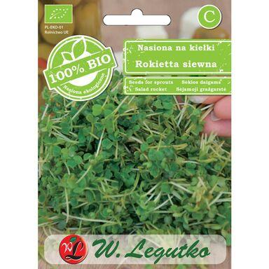 Rukola (Rokietta siewna) BIO nasiona ekologiczne 5 g W. LEGUTKO
