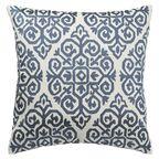Poduszka Amado niebieska 40 x 40 cm Inspire