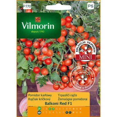 Nasiona warzyw BALCONI RED MIESZANIEC F1 Pomidor karłowy VILMORIN