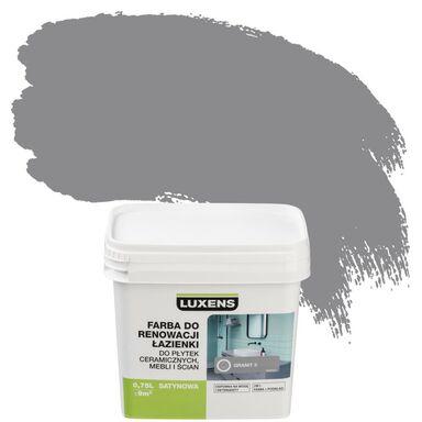Farba DO RENOWACJI ŁAZIENKI do płytek, mebli i ścian 0.75 l Granit 3 LUXENS