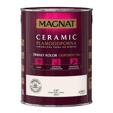 Farba wewnętrzna CERAMIC 5 l Finezyjny opal MAGNAT
