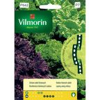 Zestaw sałat liściowych nasiona na taśmie 5 m VILMORIN