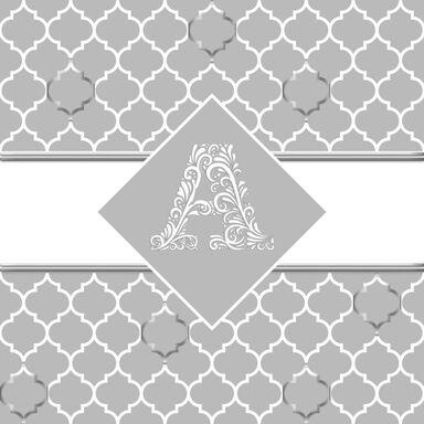Panel kuchenny szklany BUDUAR 60 x 60 cm ALFA-CER