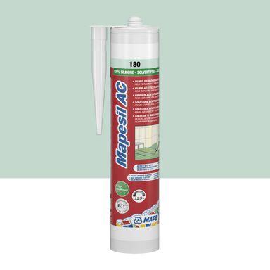 Silikon sanitarny  MAPESIL AC 180 310 ml Miętowy MAPEI
