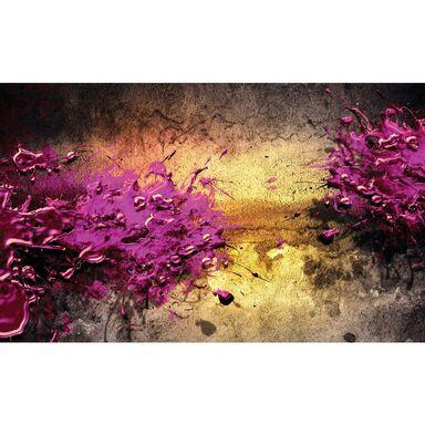 Kanwa Fioletowa abstrakcja 100 x 75 cm