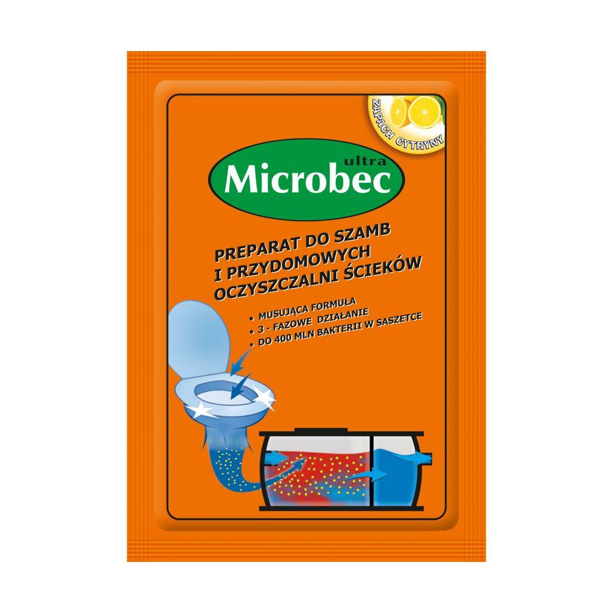 Preparat do szamb SASZETKA 25 g MICROBEC
