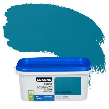 Farba wewnętrzna DO ŚCIAN I SUFITÓW 2.5 l Błękit królewski LUXENS