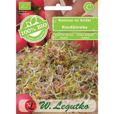 Rzodkiewka BIO nasiona ekologiczne 20 g W. LEGUTKO