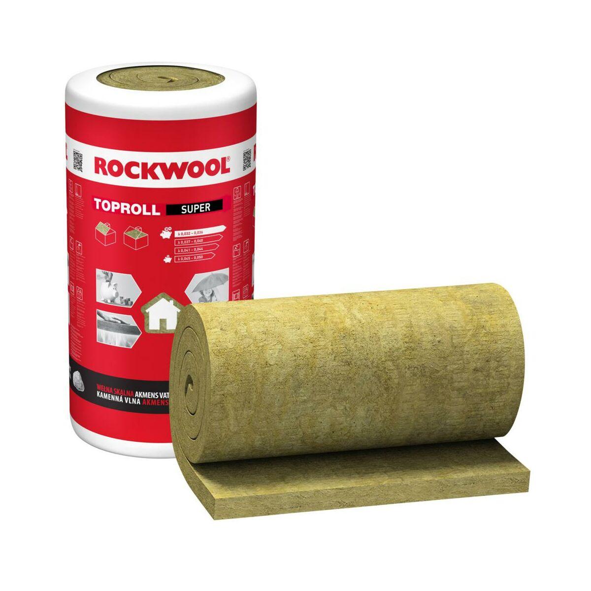 Welna Mineralna Rockroll Super 150 Mm Rockwool Welna W Atrakcyjnej Cenie W Sklepach Leroy Merlin