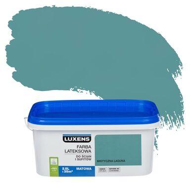 Farba wewnętrzna do ścian i sufitów EMULSJA 2.5 l Mistyczna laguna LUXENS