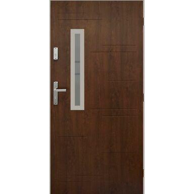 Drzwi wejściowe PARAGWAJ Orzech 90 Prawe PANTOR