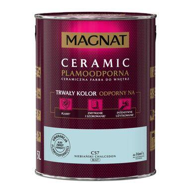 Farba wewnętrzna CERAMIC 5 l Niebiański chalcedon MAGNAT
