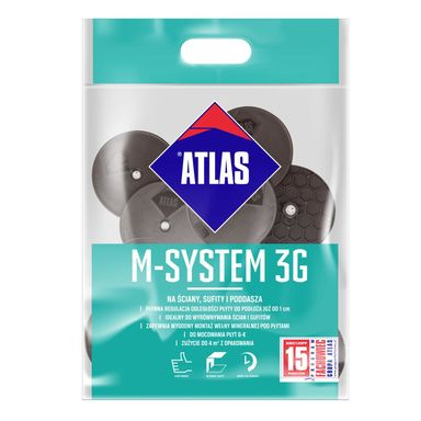Zestaw łączników do montażu płyt g-k M-SYSTEM 3G L200 ATLAS