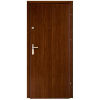 Drzwi wejściowe PRESTON Orzech 90 Prawe DOMIDOR