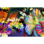 Fototapeta COLOR FLOWERS 70.5 x 104 cm