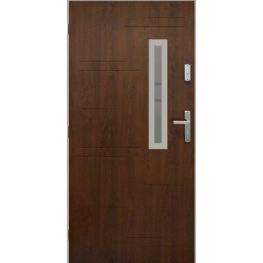Drzwi wejściowe PARAGWAJ Orzech 90 Lewe PANTOR
