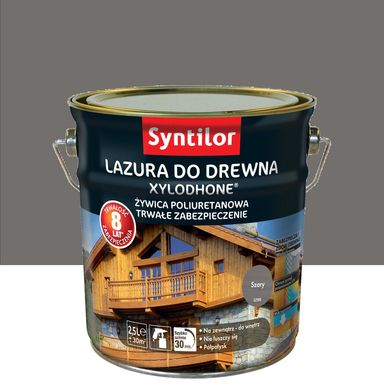 Lazura do drewna Xylodhone HP 2.5 l  Szary Syntilor