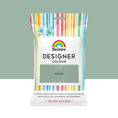 Tester farby Designer Colour 50 ml Peace Beckers
