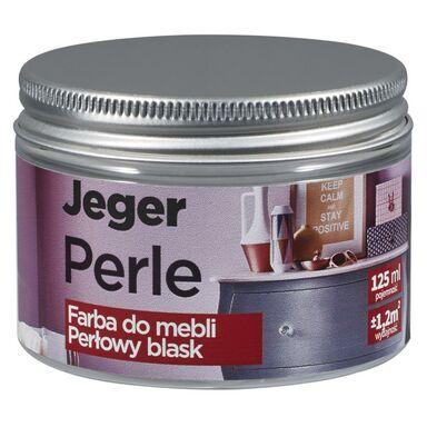 Farba do mebli PERLE 125 ml Platyna Perłowy blask JEGER